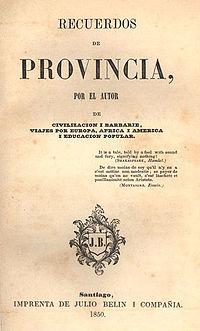 Recuerdos de Provincia cover
