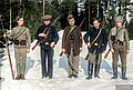 Red Guards and Russians fighting on the red side in Ruovesi, Pirkanmaa, Finland, 1918. (50213249403).jpg
