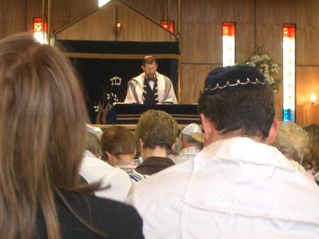 A Reform synagogue with mixed seating and equal participation of men and women ReformJewishService.jpg