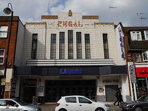 Regal Cinema, Uxbridge - The former Regal Cinema, 2016