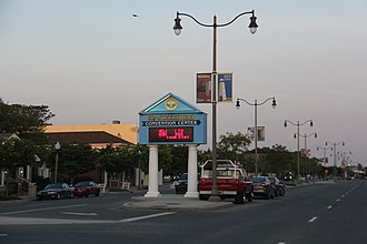Delaware Route 1A - DE 1A southbound along Rehoboth Avenue in Rehoboth Beach