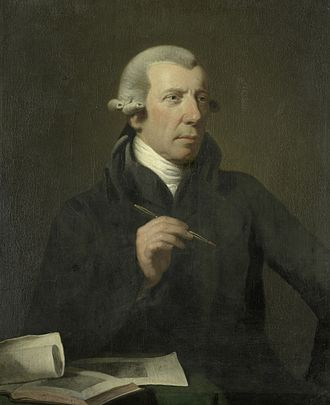 Reinier Vinkeles - Portrait by Charles Howard Hodges