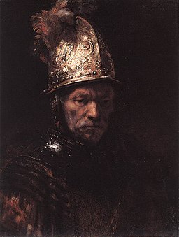 Rembrandt - Man in a Golden Helmet - WGA19190