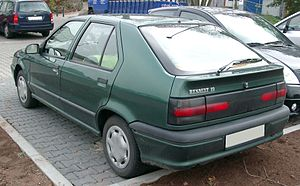 Renault 19 - Phase 2 hatchback