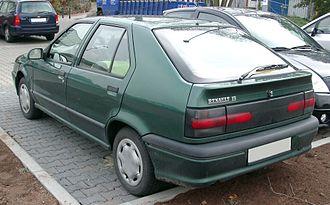 Renault 19 - Phase 2 hatchback