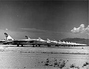 Retired RA-5Cs at the MASDC 1970s