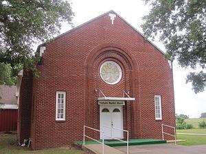 Austonio, Texas - Austonio Baptist Church