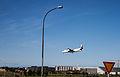 Reykjavík Airport, landing plane.jpg