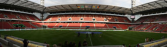 RheinEnergieStadion - Panoramic view of the stadium.