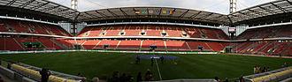 RheinEnergieStadion - Panoramic view of the stadium.