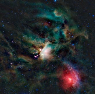 Gould Belt - The ρ Oph cloud complex is a star-forming region in the Gould Belt.