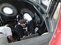 Richard Branson in WhiteKnight2 Oshkosh 2009.jpg