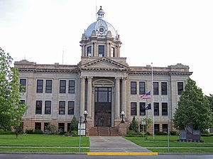 Richland County Courthouse in Wahpeton