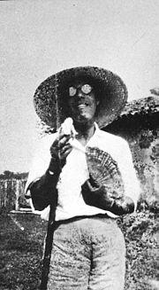 Mário em 12 de junho de 1927.
