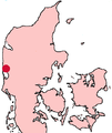 Ringkøbing Denmark location map.png