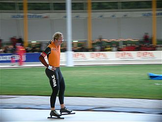 Rintje Ritsma - Ritsma at the 2003 Dutch Championships in Eindhoven