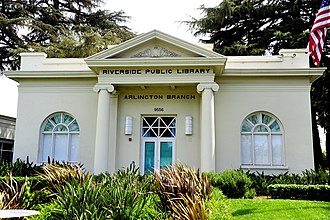 National Register of Historic Places listings in Riverside County, California - Image: Riverside Library