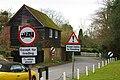 Road signs, Mill Lane, Fletching - geograph.org.uk - 1748032.jpg
