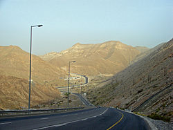 Road towards Qantab, Muscat.jpg