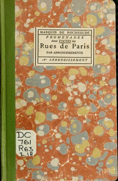 File:Rochegude - Promenades dans toutes les rues de Paris, 18.djvu