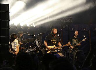The Smith Street Band - The Smith Street Band at Rocken am Brocken Festival in Germany 2015