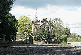 Rockfield, Monmouthshire - Image: Rockfield Lodge geograph.org.uk 1241381