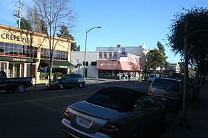 Rockridge, Oakland, California - College Ave in Rockridge