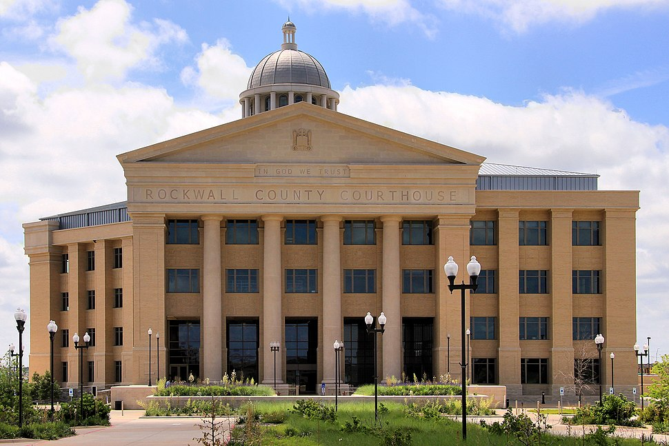 Rockwall county tx courthouse 2014