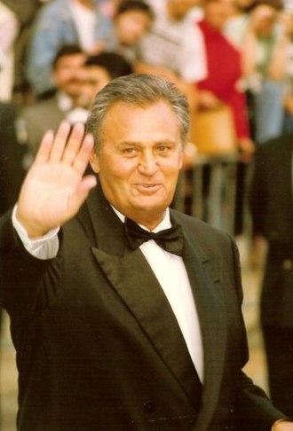 Roger Hanin - Roger Hanin at the 1992 Cannes Film Festival