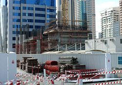 Rolex Tower Under Construction on 28 December 2007.jpg