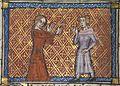 Roman de la Rose f. 20v (Bel Acueil reprimands the lover).jpg