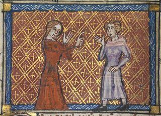 Bel Acueil reprimands the lover