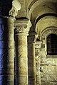 Romanesque piers and capitals, Durham Castle Undercroft Chapel.jpg