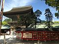 "Romon Gate and Sacred Tree ""Hakomatsu"" of Hakozaki Shrine.JPG"
