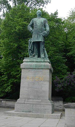 Albrecht von Roon - Von Roon statue, Berlin