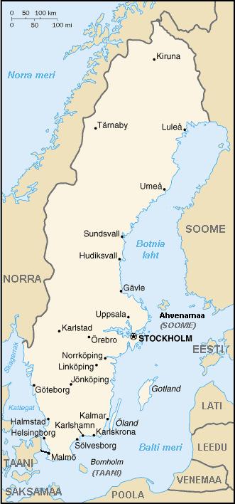 Rootsi kaart