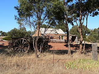 Moculta, South Australia - Image: Rosenzwieg cottage at Moculta