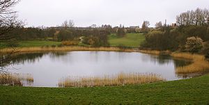 Roskilde Ring - Roskilde Ring as it is today. A pond is where the paddock once stood.