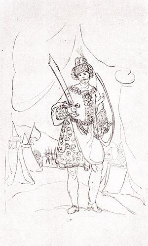 Rostom of Kartli - King Rostom by Teramo Castelli