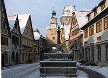 Rothenburg ob der tauber wikipedia la enciclopedia libre - Rothenburg ob der tauber alemania ...