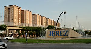 Jerez de la Frontera - Venencia Roundabout, also known as Catavino Roundabout
