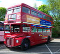 Routemaster bus RM1058 London Central 36 204 UXJ Metrocentre 2009 (1).JPG