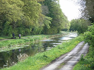 Royal Canal - Royal Canal from D'Arcy's bridge, Co. Westmeath