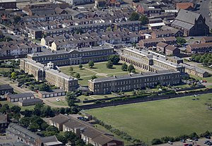 Great Yarmouth - The former Royal Naval Hospital, Great Yarmouth.