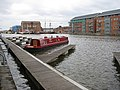 Ruby, moored in the Main Basin, Gloucester Docks - geograph.org.uk - 1016456.jpg