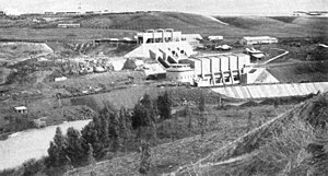 Naharayim - Power plant 1935