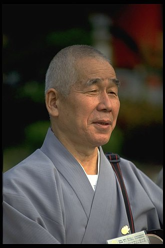 Tendai - A priest from the Japanese Tendai school of Buddhism