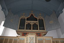 photo : orgue de Rysum