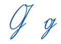Sütterlin Buchstabe G Font Wiegel Kurrent CC.png