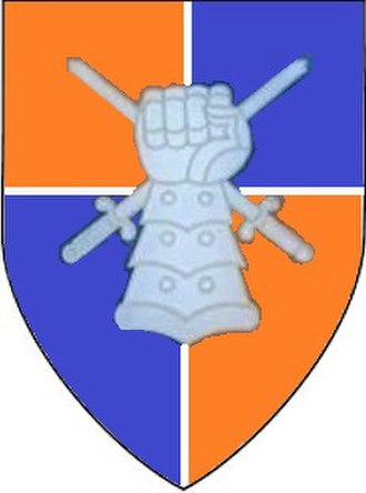 South African Army Armoured Formation - SANDF Armoured Formation Emblem